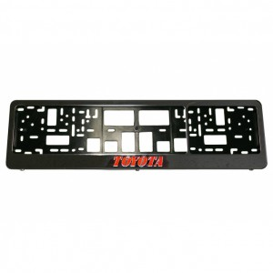 License plate bumper guard